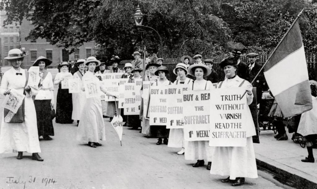 Suffragettes-HultonArchive